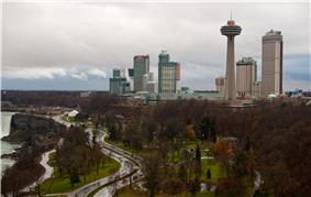 Skyline of Niagara Falls, Ontario