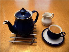British Denby tea set