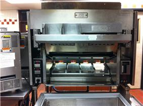 A Burger King/Nieco broiler cooking unit
