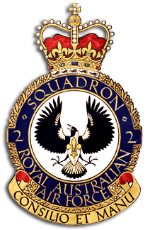 Crest of No. 2 Squadron, Royal Australian Air Force
