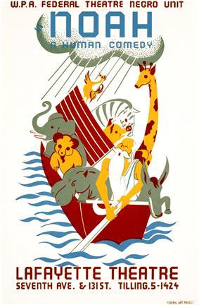 Noah, a human comedy, WPA poster, 1936.jpg
