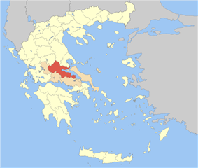 Phthiotis within Greece