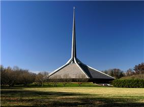North Christian Church, a historic example of modern architecture.