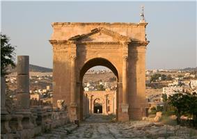 North Tetrapylon, Jerash, Jordan1.jpg