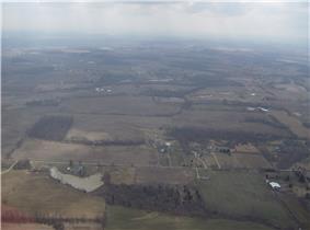 Countryside in far northern Caesarscreek Township