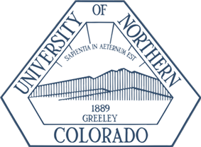 The official logo of the University of Northern Colorado