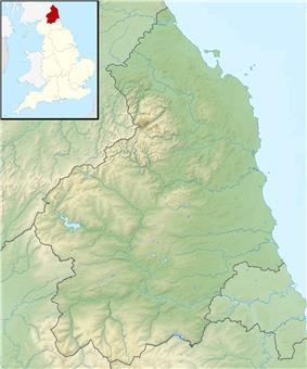 The Cheviot is located in Northumberland
