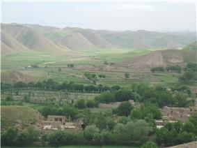 A village in Badghis