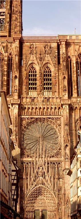 Ornate Gothic façade