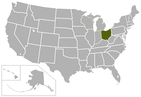 Ohio Athletic Conference locations