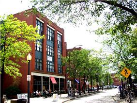 Market Avenue, one of Ohio City's pedestrian-friendly streets