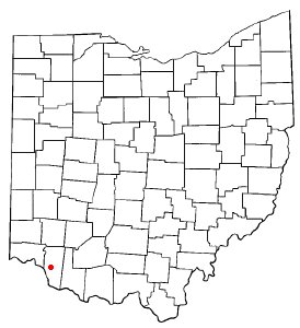 Location of Amelia, Ohio