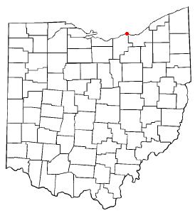 Location in Ohio