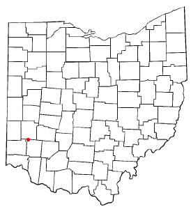 Location of Carlisle, Ohio