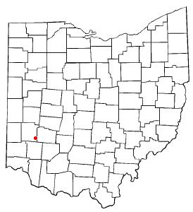 Location of Centerville, Montgomery County, Ohio