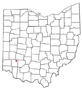 Location of Corwin, Ohio