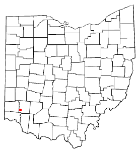 Location of Mason, Ohio