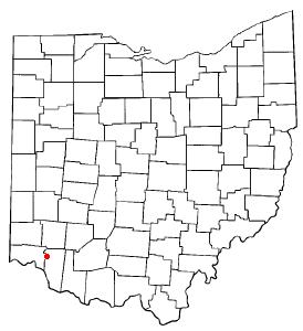 Location of Milford, Ohio
