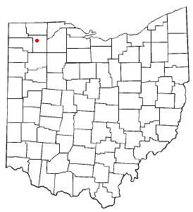 Location of Napoleon, Ohio