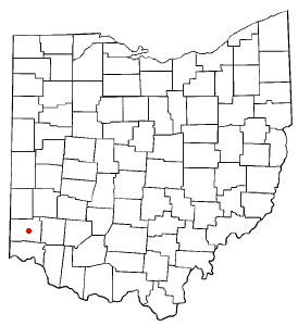 Location of New Miami, Ohio