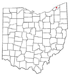 Location of Painesville, Ohio