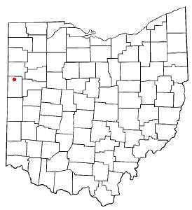 Location of Rockford, Ohio