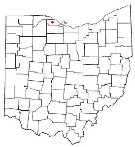 Location of Rocky Ridge, Ohio