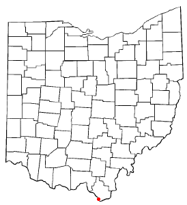 Location of South Point, Ohio