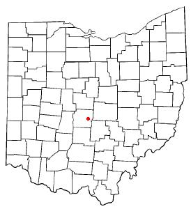 Location of Whitehall, Ohio
