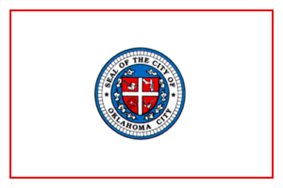 Flag of Oklahoma City, Oklahoma
