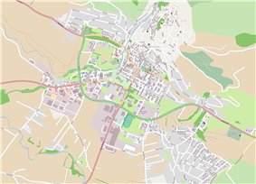 Map of the Town of Livno