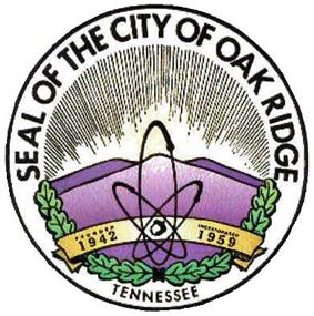 Official seal of Oak Ridge, Tennessee