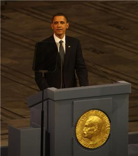 Barack Obama speaking