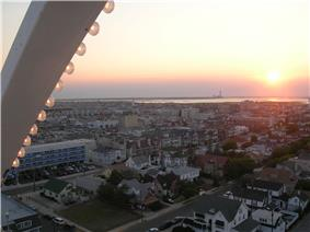 Ocean City seen from the Ferris wheel on the boardwalk