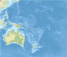 2009 Tonga earthquake is located in Oceania
