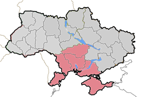 Location of the Diocese of Odessa-Simferopol