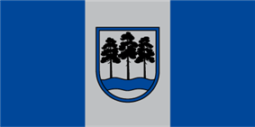 Flag of Ogre Municipality