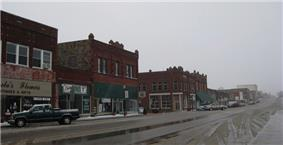 West Broadway, Downtown