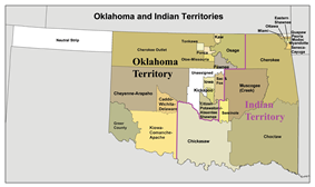 Location of Oklahoma