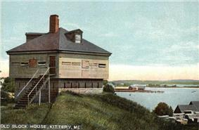 Old Block House at Fort McClary (c. 1908)