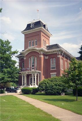 Old Iroquois County Courthouse