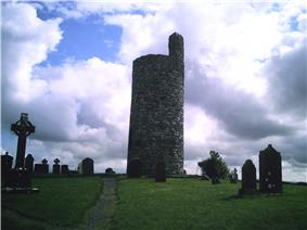 Photo of Old Kilcullen round tower, County Kildare, Ireland