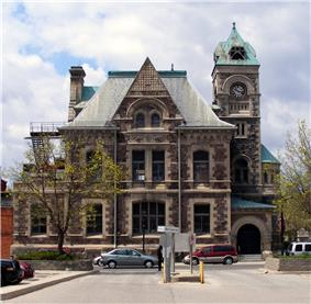 Exterior view of Former Galt Post Office