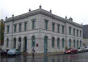 Exterior view of the Old Post Office in Kingston