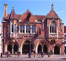 The Victorian Gothic style Old Town Hall, Berkhamsted