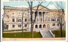 Virginia State Library-Oliver Hill Building