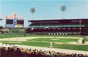 Comiskey Park in 1990