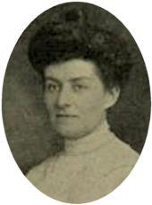 head and shoulders picture of a young woman with dark hair
