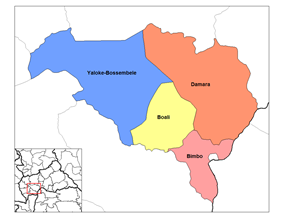 Sub-prefectures of Ombella-M'Poko