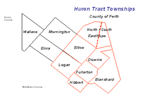 Historic townships in Perth County
